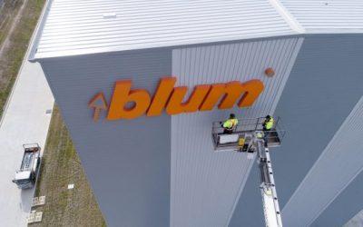 Blum Branding taken to Great New Heights
