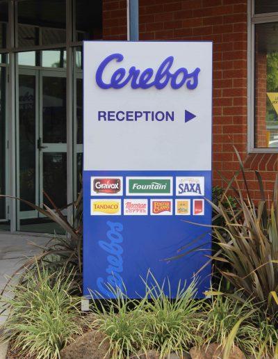 Wayfinding Signs for Cerebos