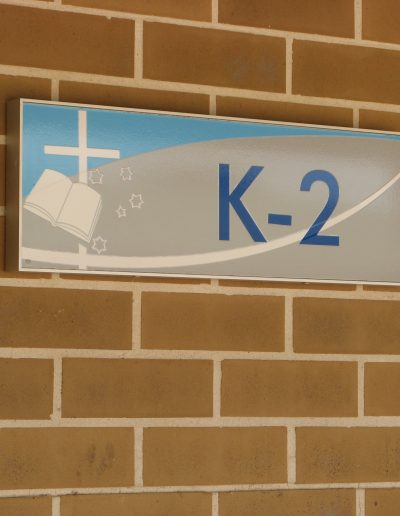 Building Signs for Penrith Christian School