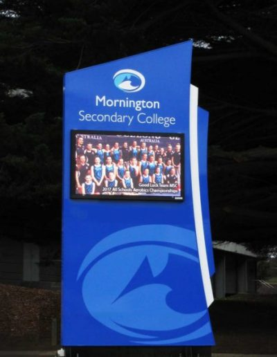 LED Signs for Mornington Secondary College
