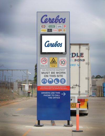 LED Signs for Cerebos