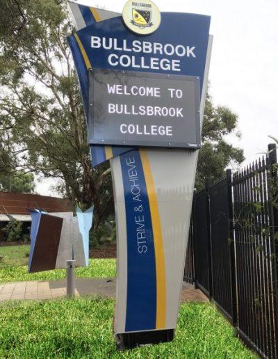LED Signs for Bullsbrook College