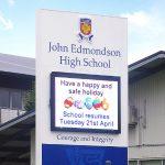 LED signs for John edmondson high school