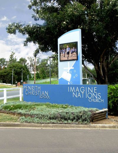 LED Signs for Penrith Christian School