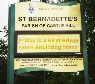 St Bernadette's Parish Castle Hill