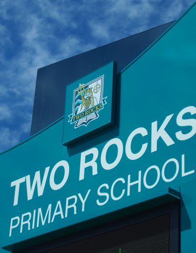 LED Signs for Two Rocks Primary School