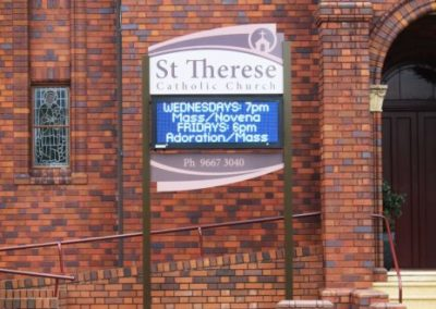 St Therese Catholic Church Mascot