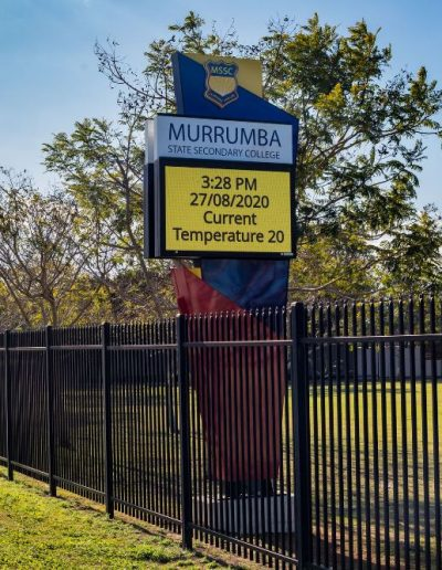 LED signs for Murrumba State Secondary College